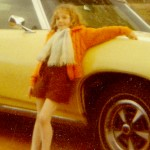 Donna Williams aged 8 with GTS convertible