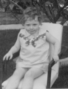 Donna Williams aged 5