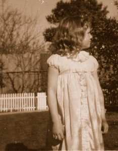 Donna Williams aged 7