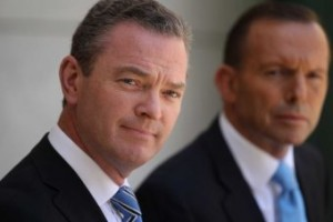 Christopher Pyne and Tony Abbott