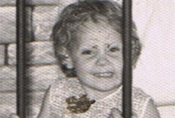 Donna Williams aged 3