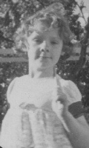 Donna Williams aged 11