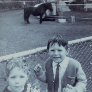 donna aged 4 at zoo
