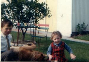 donna aged 4 tartan 2